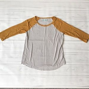 Maurices Women's Small 3/4 sleeve top